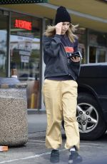 Suki Waterhouse Leaving Whole Foods in West Hollywood
