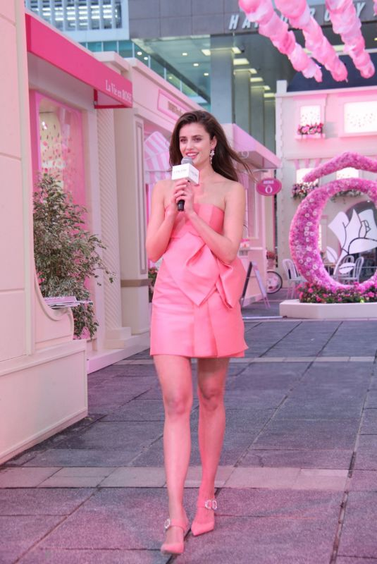 Taylor Hill At Lancome promotional event in Hong Kong