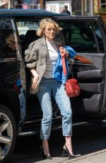 Taylor Schilling Out in New York City