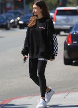 a77a03e6 Thylane Blondeau and Milane Meritte enjoy a lunch outing in Beverly Hills