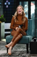 Tracy Spiridakos At AOL Build for Chicago PD in NY