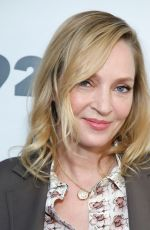 Uma Thurman At Christie