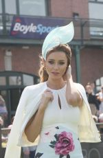 Una Healy At Ladies Day at Fairyhouse Races in Ireland