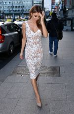 Una Healy Outside The Hibernian Club in Dublin