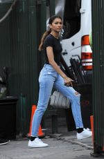 Zendaya Spotted leaving a photoshoot in Downtown Los Angeles