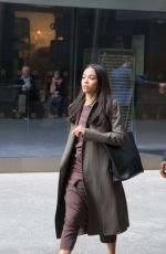 Zoe Saldana Out in NYC