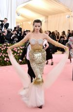Abbey Lee Kershaw At The 2019 Met Gala Celebrating Camp: Notes on Fashion in New York
