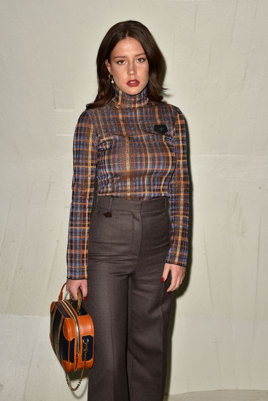 Adèle Exarchopoulos At Louis Vuitton Cruise 2020 Fashion Show at TWA Terminal in JFK Airport