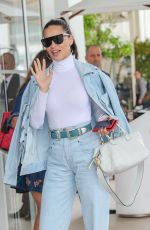 Adriana Lima At the Martinez hotel during the 72nd annual Cannes Film Festival in Cannes