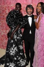 Adut Akech Bior Attends The 2019 Met Gala Celebrating Camp: Notes on Fashion at Metropolitan Museum of Art in New York City