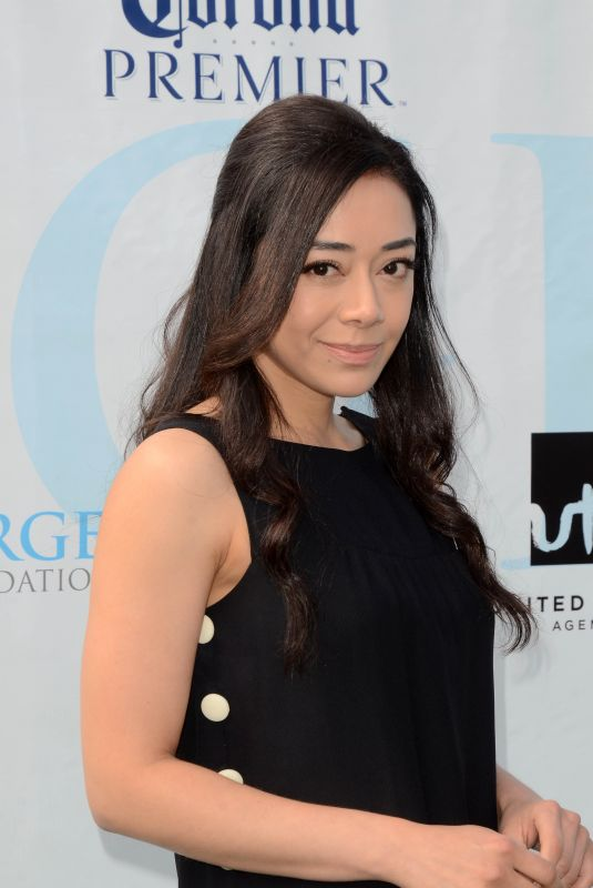 Aimee Garcia At 12th Annual George Lopez Celebrity Golf Classic in Toluca Lake