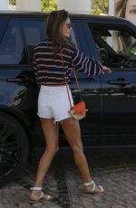 Alessandra Ambrosio Leaving her hotel in Cannes
