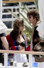 Alessandra Ambrosio Relaxing with her boyfriend in Cannes