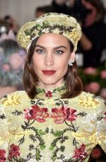 Alexa Chung At 2019 Met Gala in New York City