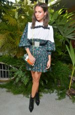 Alicia Vikander At Louis Vuitton Cruise 2020 show, MoMA PS1, in New York