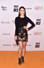 Allison Paige At 26th Annual Race to Erase MS Gala in Beverly Hills