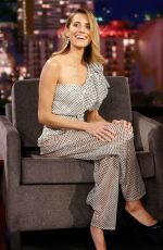 Allison Williams At Jimmy Kimmel Live in Hollywood