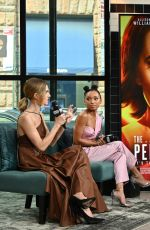 Allison Williams & Logan Browning On AOL Build in NYC
