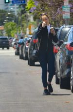 Alycia Debnam-Carey Out for coffee in Hollywood