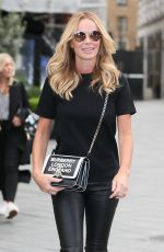 Amanda Holden At Global Studios in London
