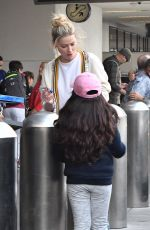 Amber Heard Arriving and leaving LAX