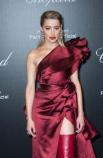 Amber Heard At Chopard Party at 72nd Cannes Film Festival