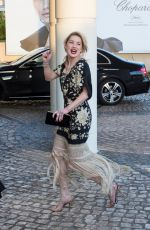 Amber Heard At the Martinez Hotel during the 72nd annual Cannes Film Festival in Cannes
