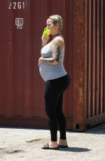 Amber Rose Out for lunch with her mother at french eatery Petit Trois in Sherman Oaks