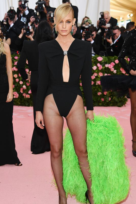 Amber Valletta Attends The 2019 Met Gala Celebrating Camp: Notes On Fashion at The Metropolitan Museum of Art, New York