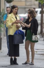 Ana de Armas Out for lunch in Madrid