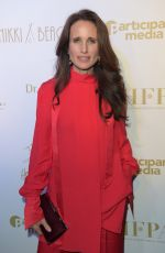 Andie MacDowell At HFPA & Participant Media Honour Help Refugees during 72nd Cannes Film Festival