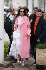 Andie MacDowell Seen during Cannes Film Festival in Cannes