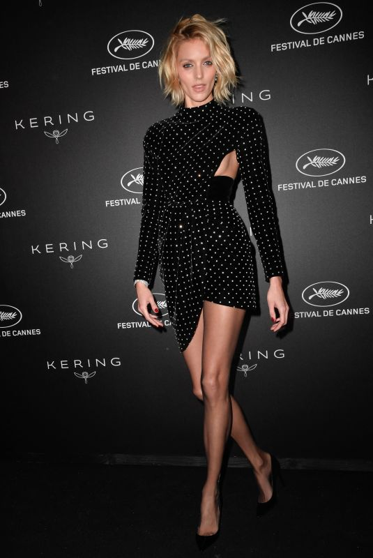 Anja Rubik At Kering Women In Motion Awards during the 72nd annual Cannes Film Festival in Cannes