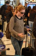 Anna Paquin At LAX Airport in Los Angeles
