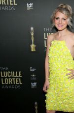 Annaleigh Ashford At 34th Annual Lucille Lortel Awards in New York City