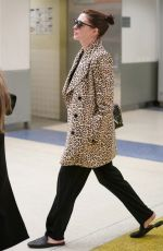 Anne Hathaway At JFK Airport in New York City