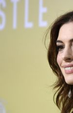 Anne Hathaway At The Hustle Premiere in Hollywood