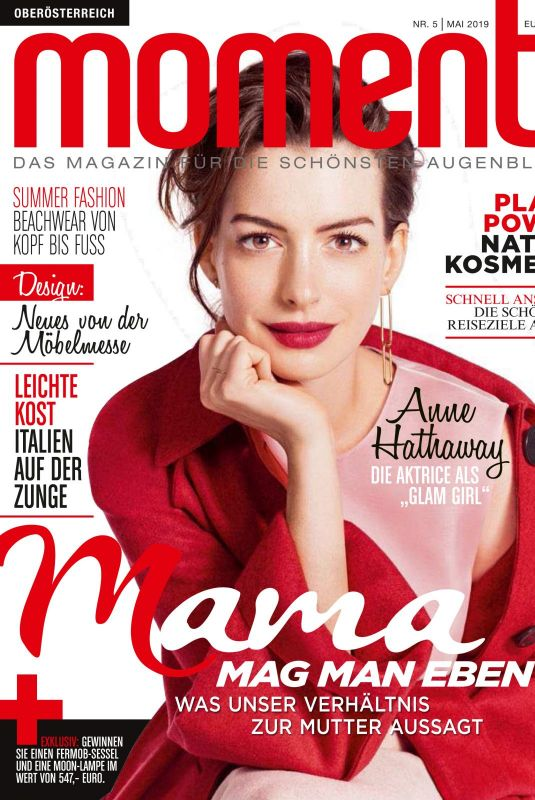 Anne Hathaway - moments magazine austria, may 2019