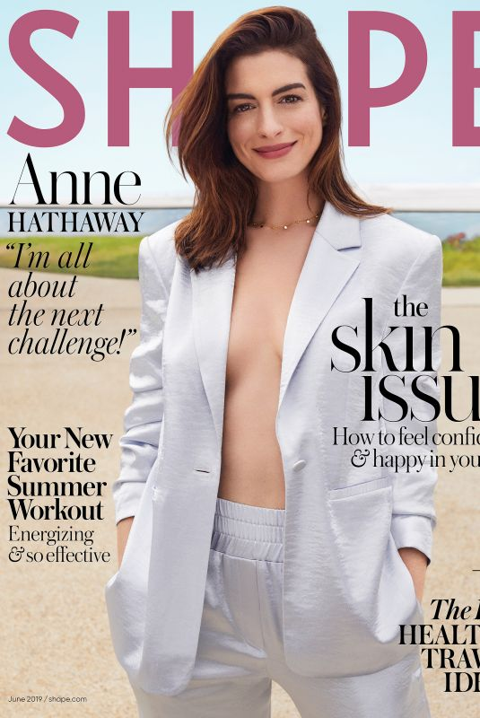 Anne Hathaway - Shape Magazine June 2019