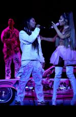 Ariana Grande Performing in concert at Staples arena in LA