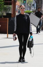 Ashlee Simpson At the gym in LA