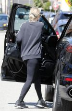 Ashlee Simpson Leaving the gym in LA