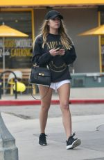 Ashley Benson Out In Studio City Before hitting the gym