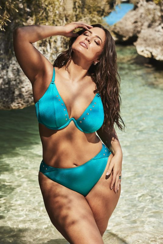 """Ashley Graham In the new Swimsuits """"All summer collection 2019"""""""
