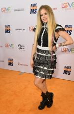 Avril Lavigne At 26th Annual Race to Erase MS Gala in Beverly Hills
