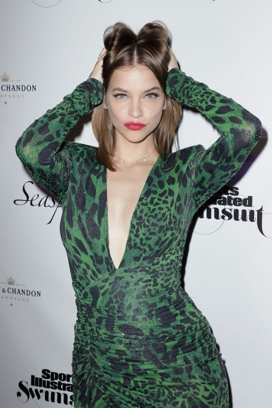 Barbara Palvin At Sports Illustrated Swimsuit 2019 Issue Launch in Miami