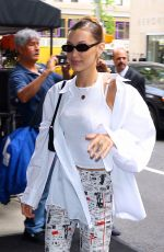 Bella Hadid Arriving at The Mark Hotel in NYC