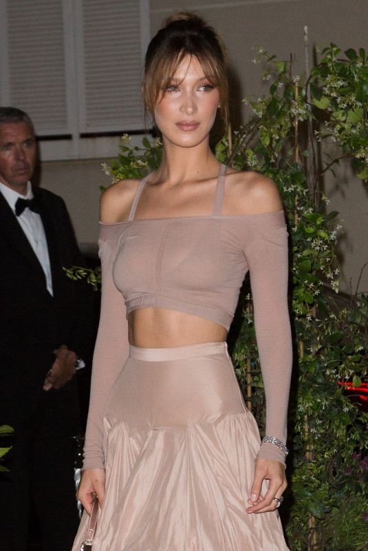 Bella Hadid At dior and vogue paris dinner in Cannes