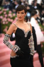 Bella Hadid Attends the 2019 Met Gala Celebrating Camp: Notes on Fashion in New York