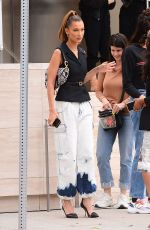 Bella Hadid Out for lunch at Via Alloro in Beverly Hills